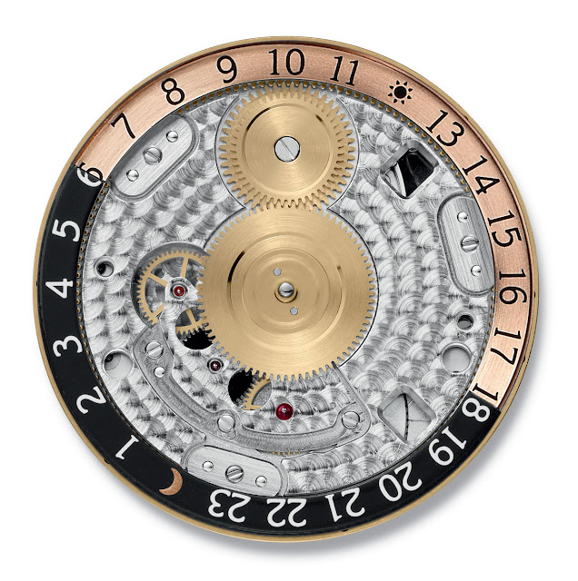 Girard-Perregaux WW.TC Small Second detail