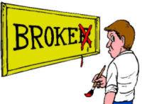 IndyMac Bank is broke