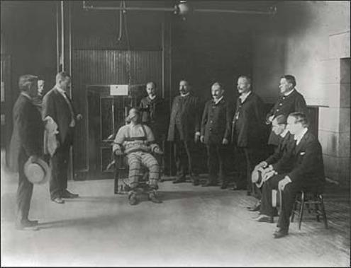 Paseando por la Historia Historia de la silla elctrica