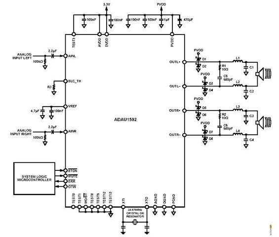 Schematic  U0026 Wiring Diagram  Stereo Circuit Schematic Of
