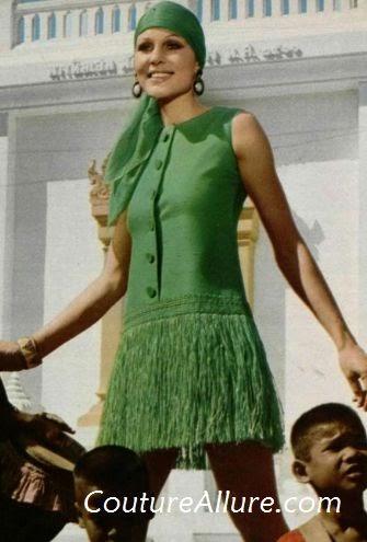 Couture Allure Vintage Fashion Summer Dresses 1970
