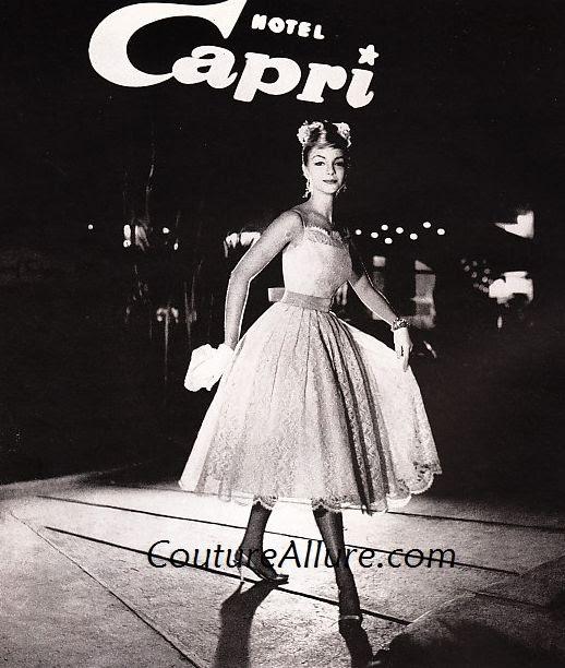 Couture Allure Vintage Fashion Jonny Herbert Dresses 1958