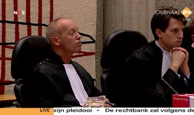 Judge Jan Moorse in Wilders Trial 19 October 2010