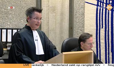 Wilders Trial prosecutor Birgit van Roessel