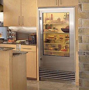Vignette design glass door refrigerators - Glass door fridge for home ...