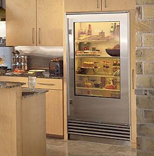 Vignette Design Glass Door Refrigerators