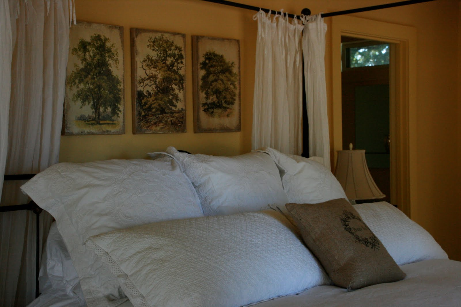 Vignette design hanging art over the bed - Over the bed art ...