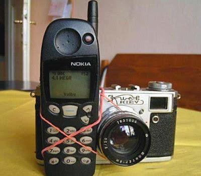 telefono movil con camara fotografica
