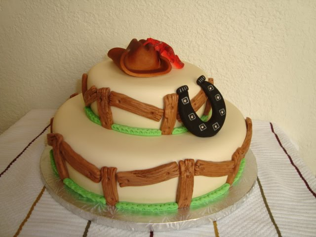Natry S Cake Torta Vaquera Hombre
