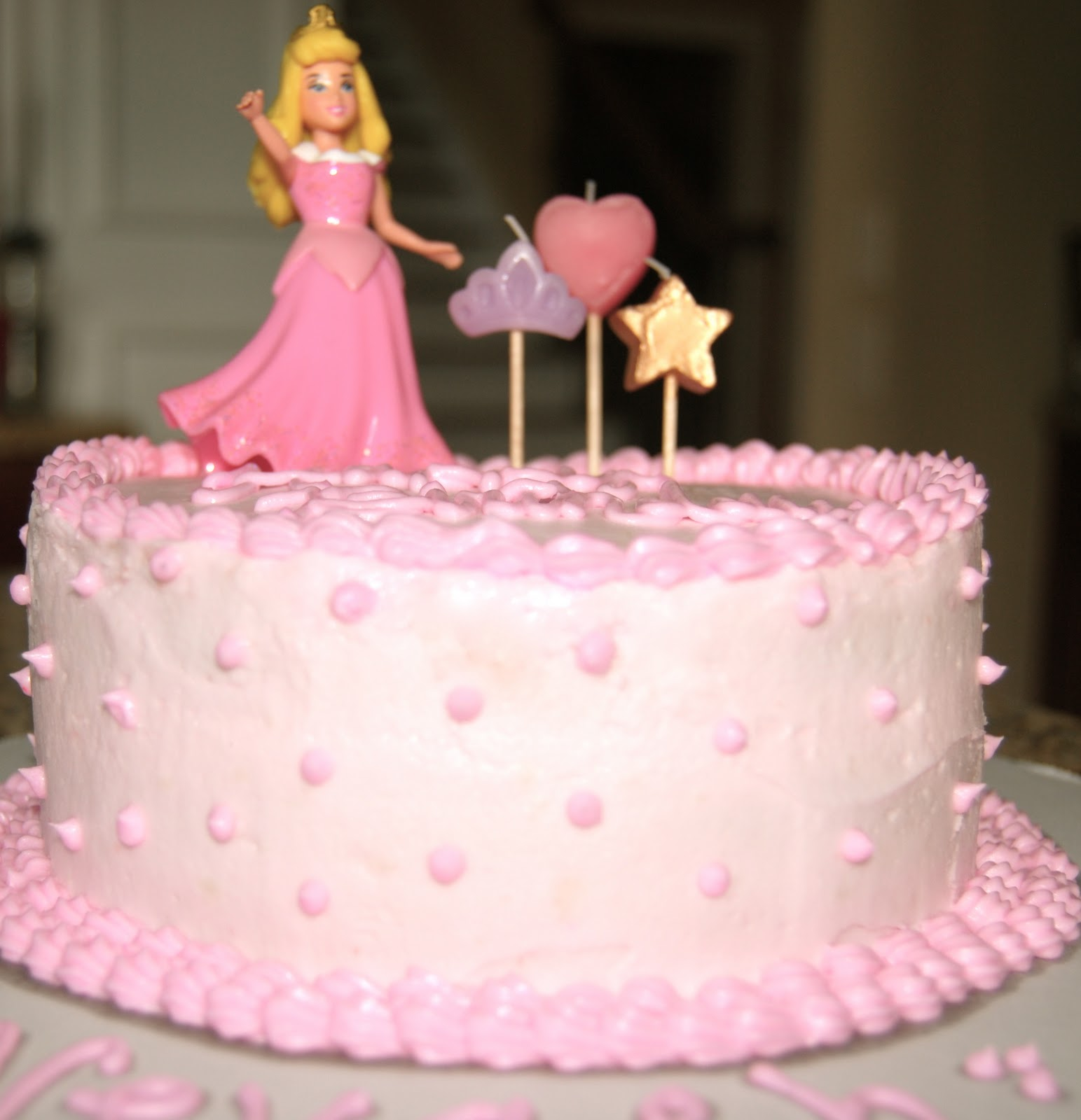 Baked By Ash Sleeping Beauty Cake