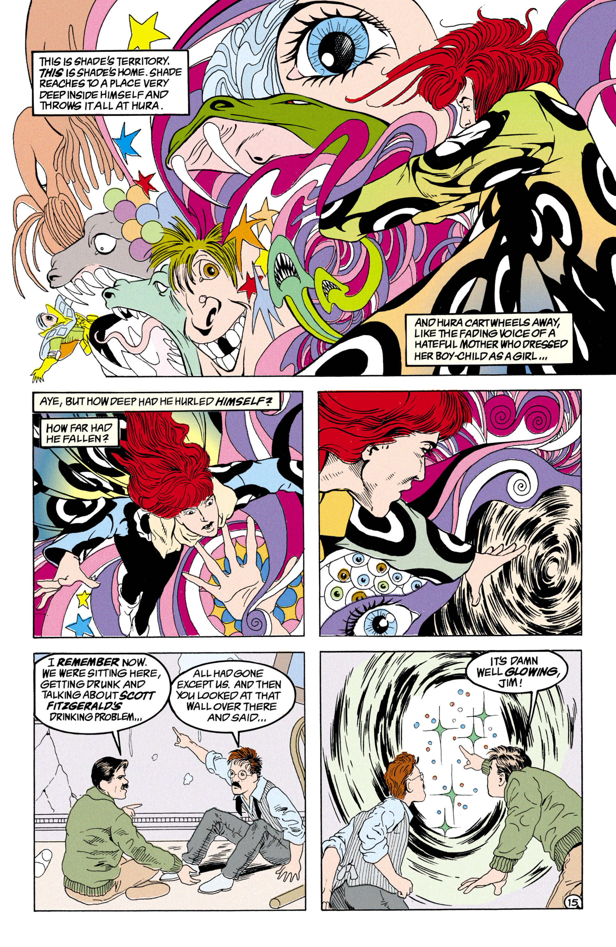 Read online Shade, the Changing Man comic -  Issue #31 - 16
