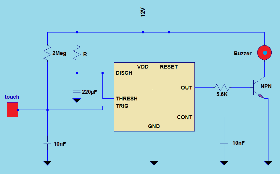 Ir Transmitter And Receiver Circuit Diagram Pin Of 555 Function Timer