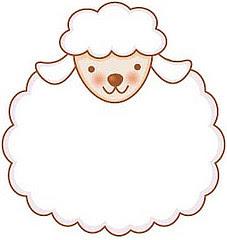 Ovelhas Modelos E Moldes Blog Da Tia Alê