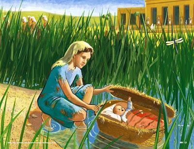 Resultado de imagem para nascimento de moises rio nilo