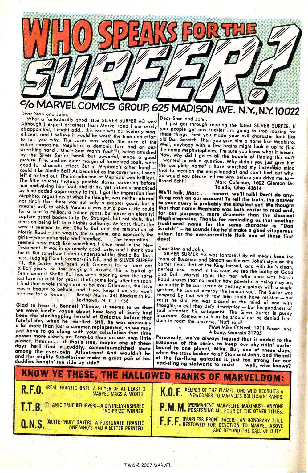 Read online Silver Surfer (1968) comic -  Issue #5 - 64