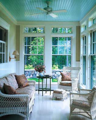 Orange Julius How To Haint Blue Porch Ceiling