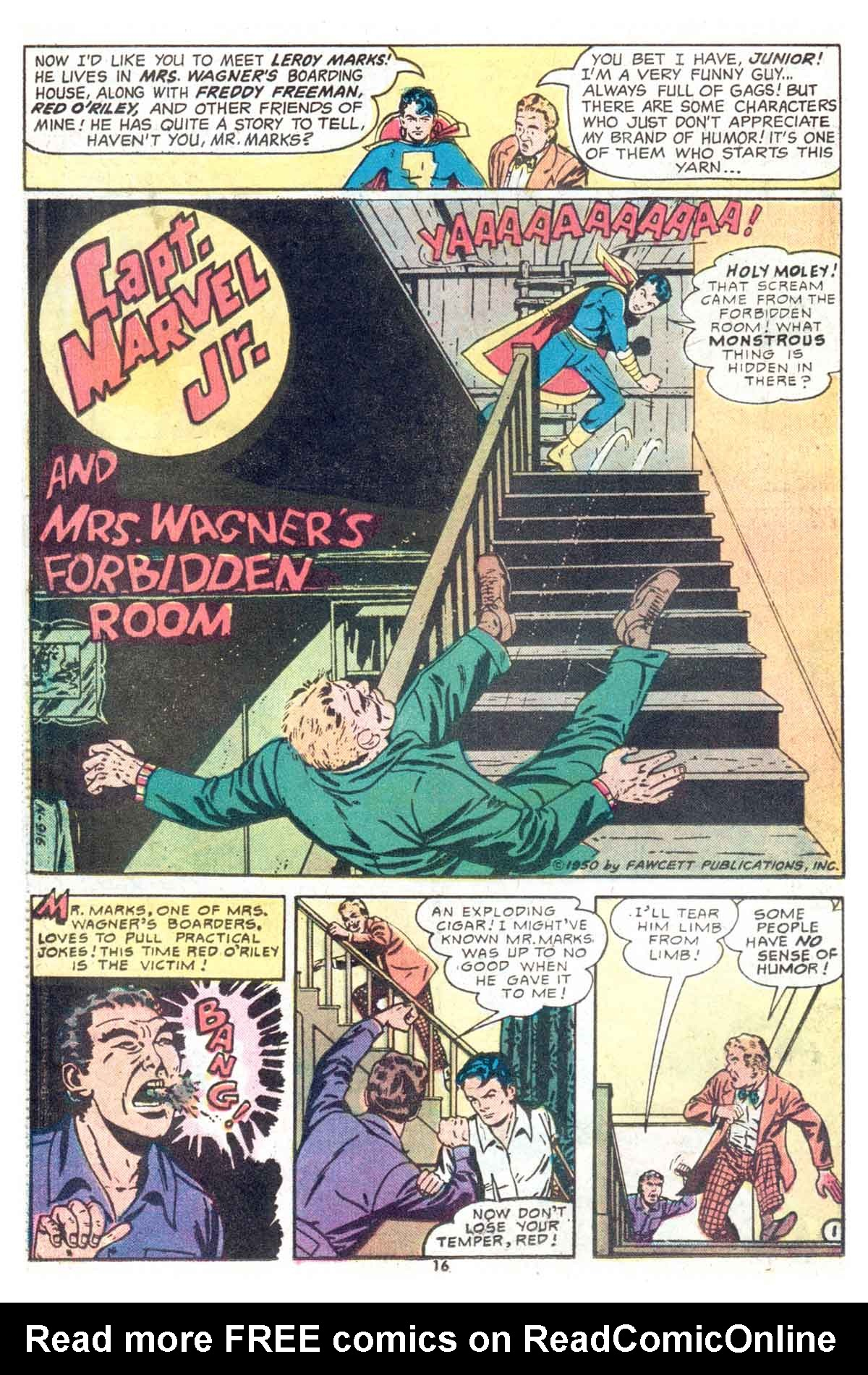 Read online Shazam! (1973) comic -  Issue #13 - 17