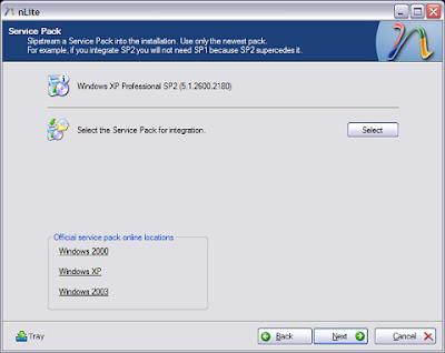 Nlite : Customise your Windows XP - Part 2 4