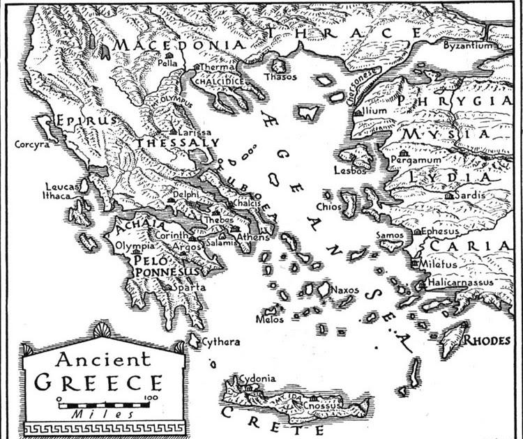 Summer Literacy: Greek Mythology: Maps of the Ancient