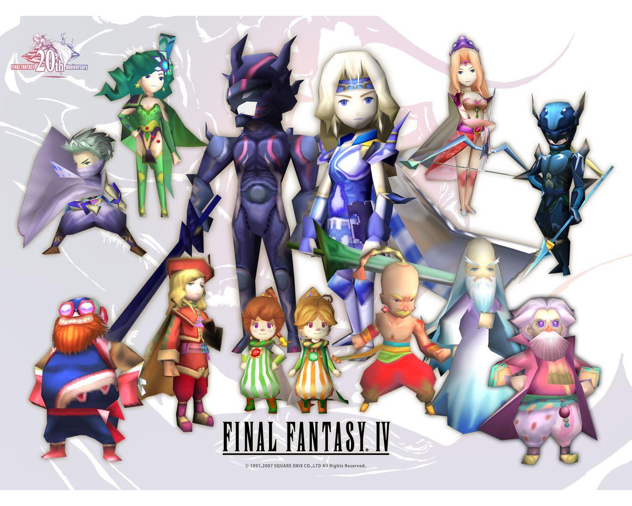 Fondos de pantalla Final Fantasy IV DS