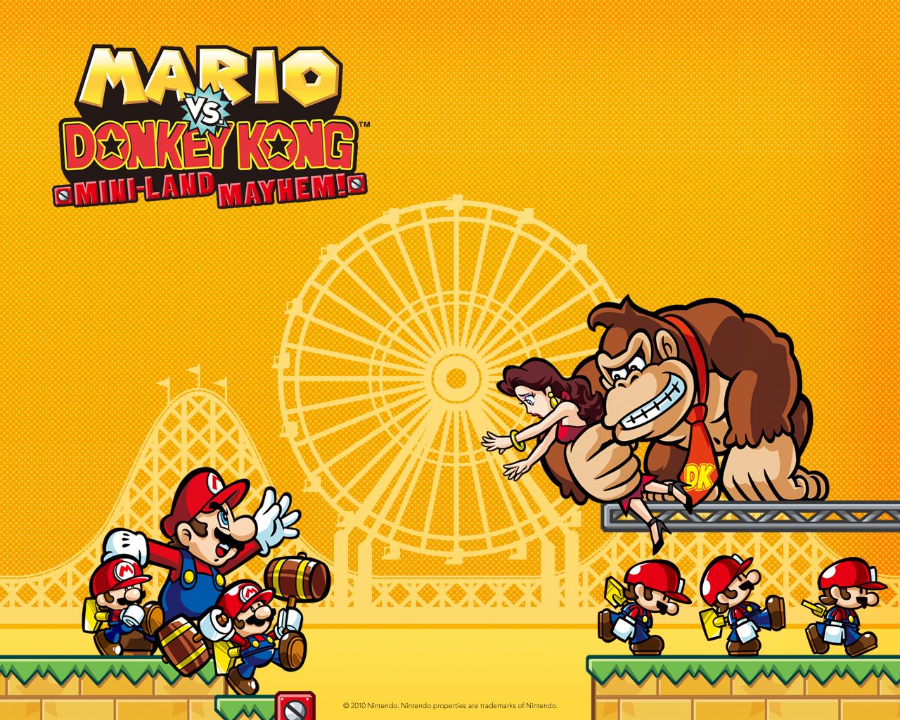 Mario Vs Donkey Kong Wallpapers Super Mario Bros En Taringa