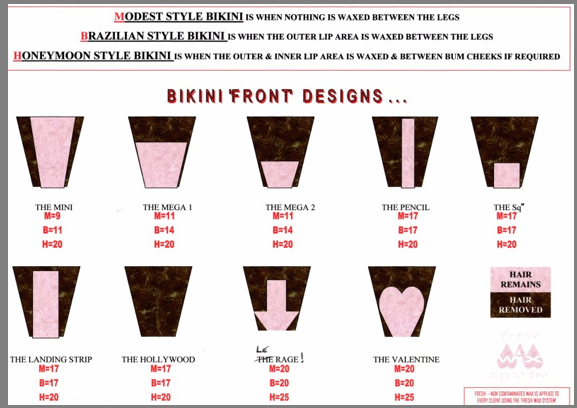Different Types Of Bikini Waxes 4