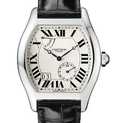 Montre Cartier  Tortue  collection privée modèle extra large