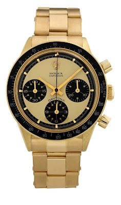 Montre Rolex Cosmograph Daytona Paul Newman Ref 6241 Or