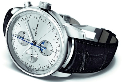 Montre Eterna Soleure Moonphase Chronograph