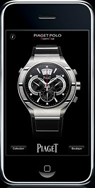 Montre Piaget Polo Chronograph Application iPhone