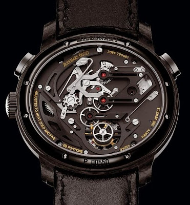 Calibre 2884 Montre Audemars Piguet Millenary Carbon One Tourbillon Chronographe
