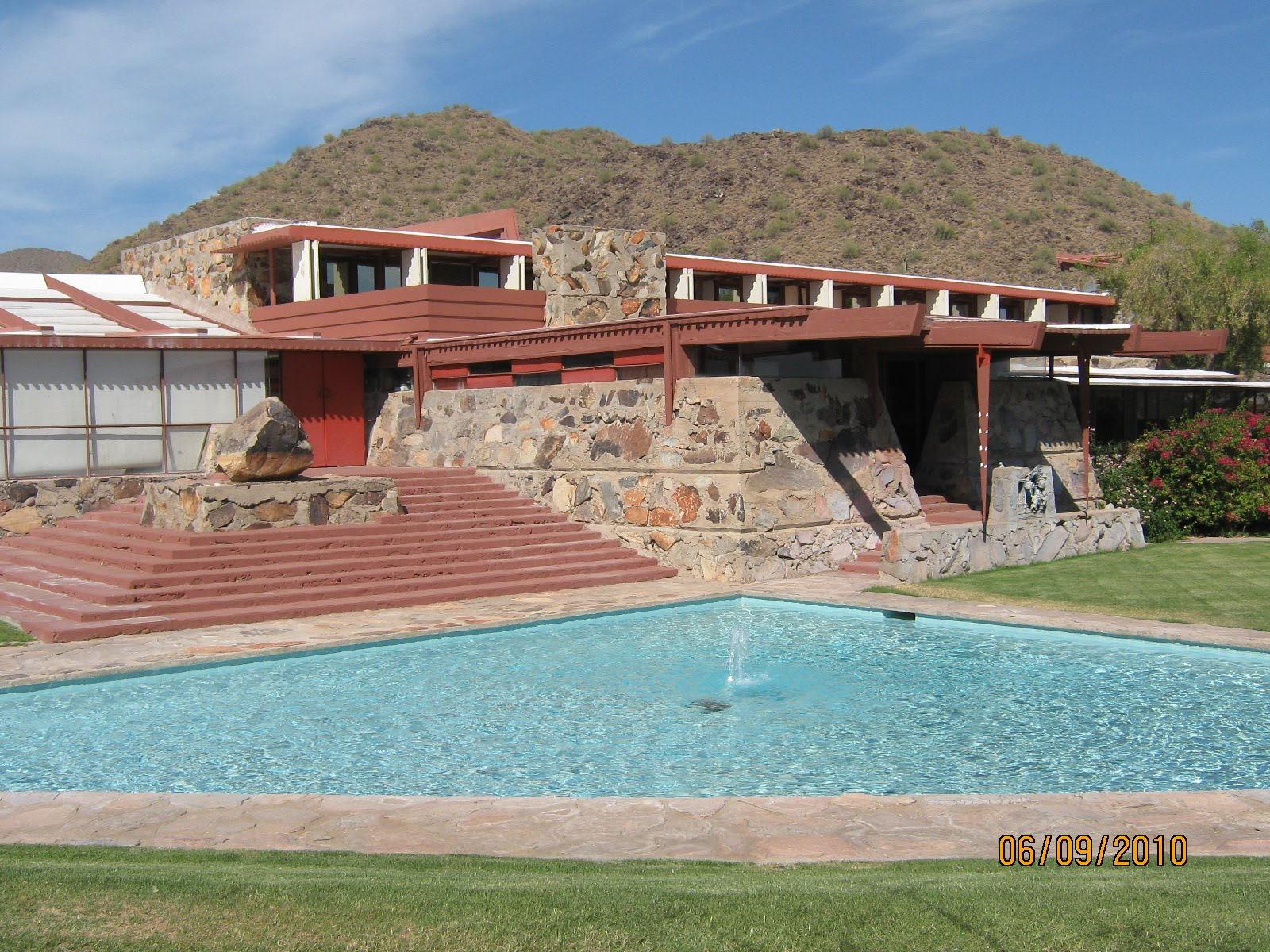 The Whited Sepulchre Taliesin West Frank Lloyd Wright
