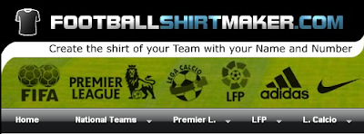 Football shirt maker - Create T-Shirt of Your Favorite Football Player or Team