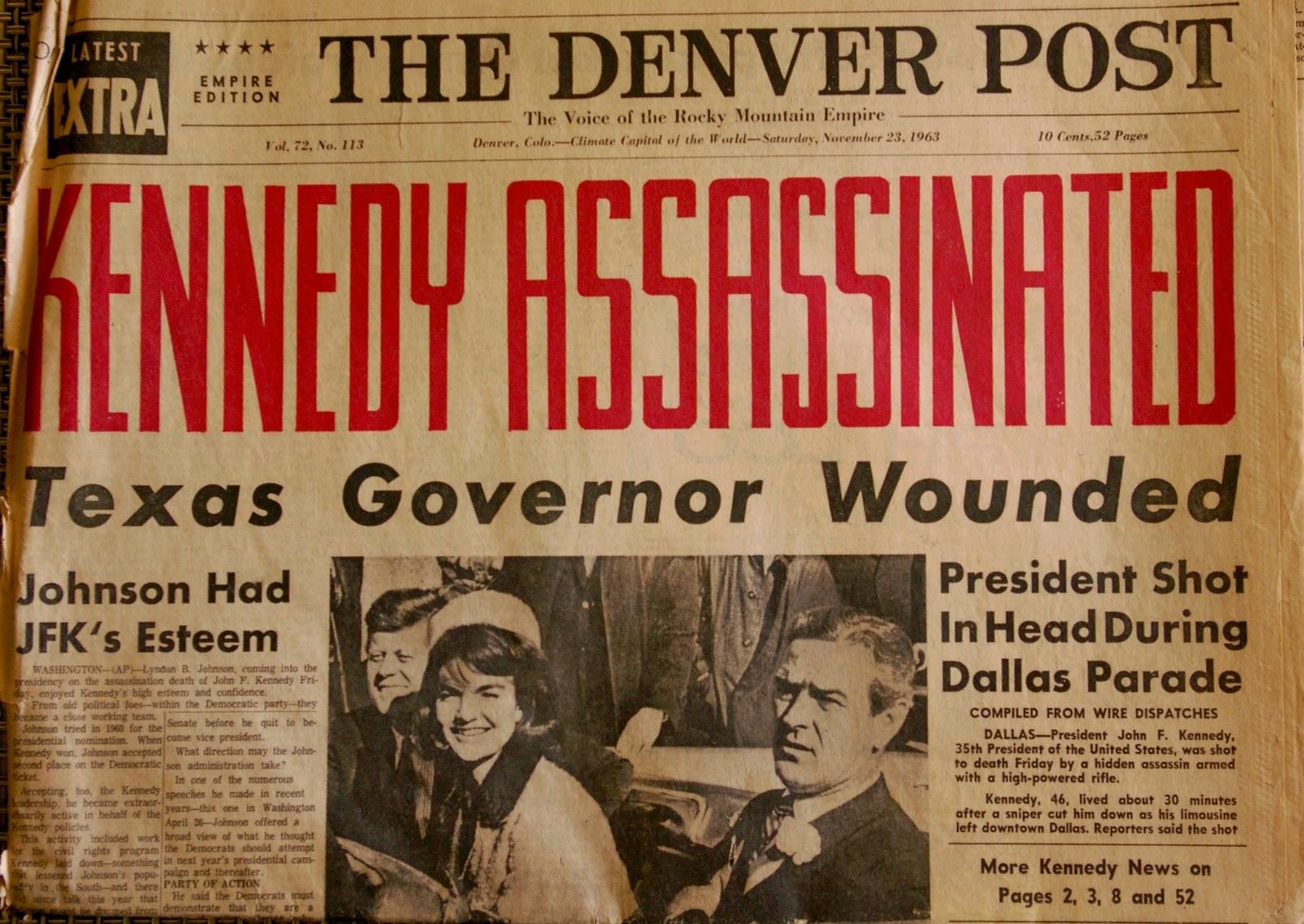Asesinato de JFK: Las fotos que nunca viste - Taringa!