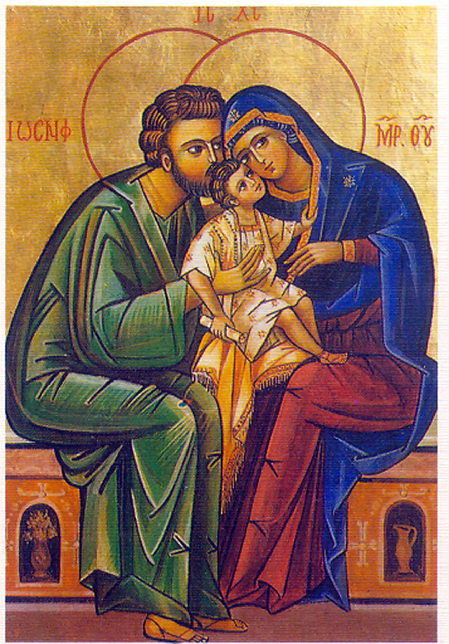 LOVE IN THE RUINS: Holy Family (886 x 1271 Pixel)