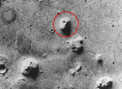 Giant Face on Mars