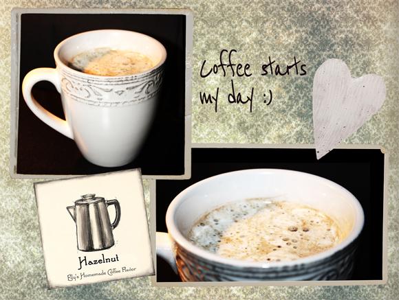 Ellys Art Coffee Starts My Day