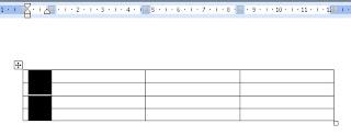ubah lebar tabel