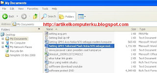 Buka windows explorer