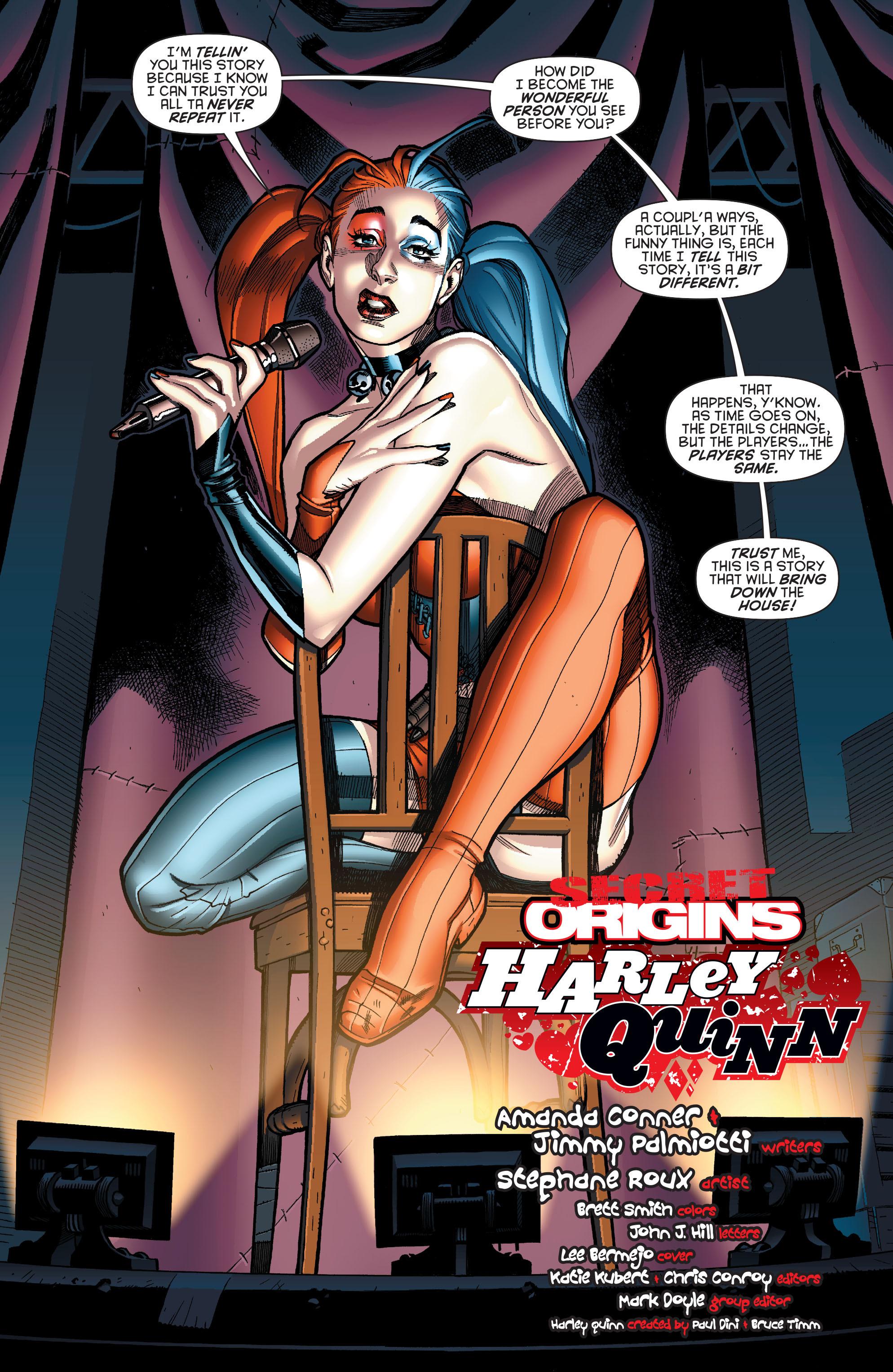 Read online Secret Origins (2014) comic -  Issue #4 - 2