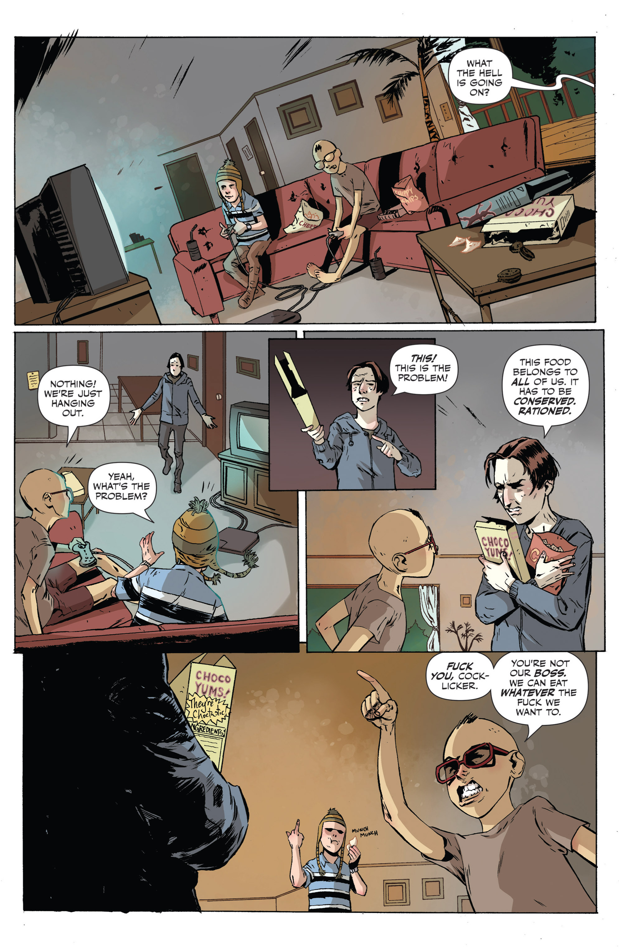 Read online Sheltered comic -  Issue #3 - 9
