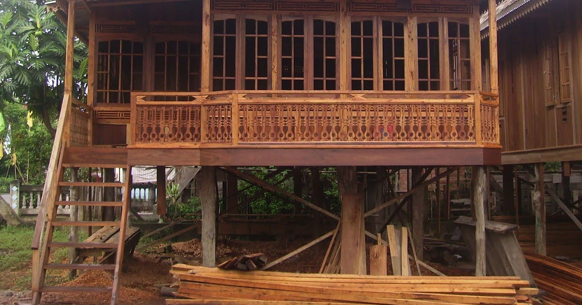 Agen Rumah Kayu  Rumah Bongkar Pasang Rumah Panggung