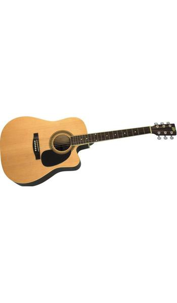 lowest prices on musical instruments guaranteed acoustic guitars granada prld18ceq jumbo. Black Bedroom Furniture Sets. Home Design Ideas