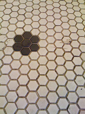 dwelling and design: Honeycomb Tile