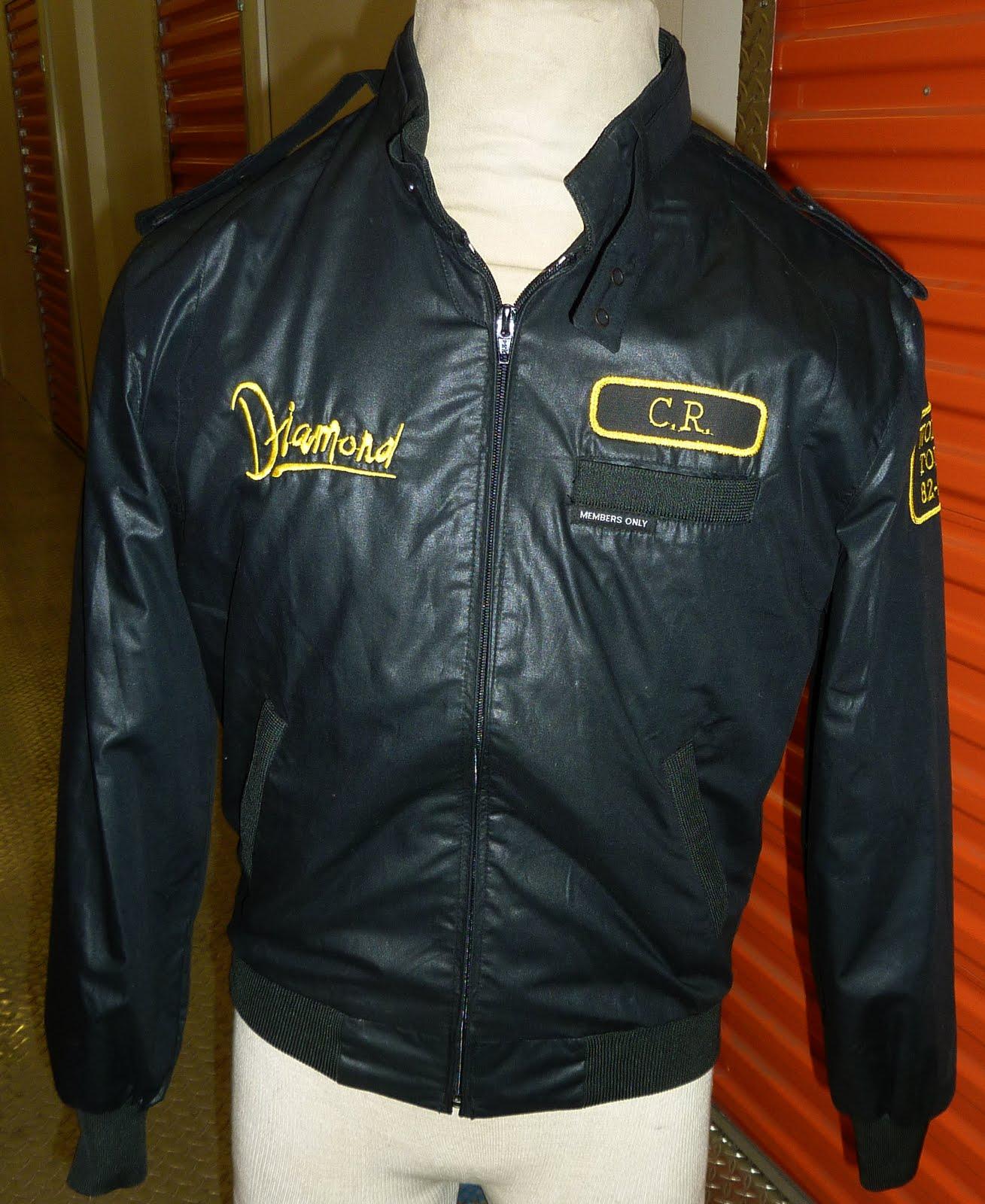 vintagetourjackets neil diamond members only 1982 83 tour jacket