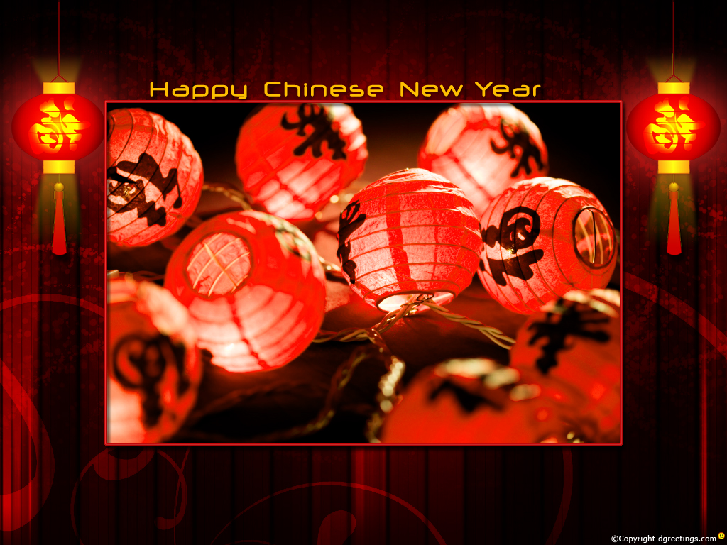 Chinese readers a Prosperous and Happy Chinese New Year of the Rabbit. 1024 x 768.Happy Chinese New Year Greetings In Cantonese