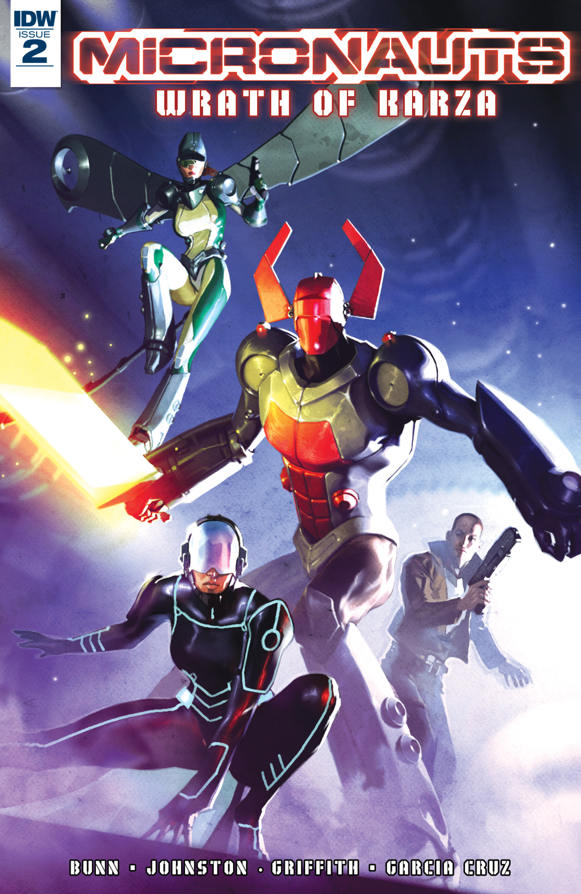 Read online Micronauts: Wrath of Karza comic -  Issue #2 - 1