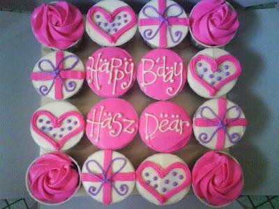Birthday Cupcake Design