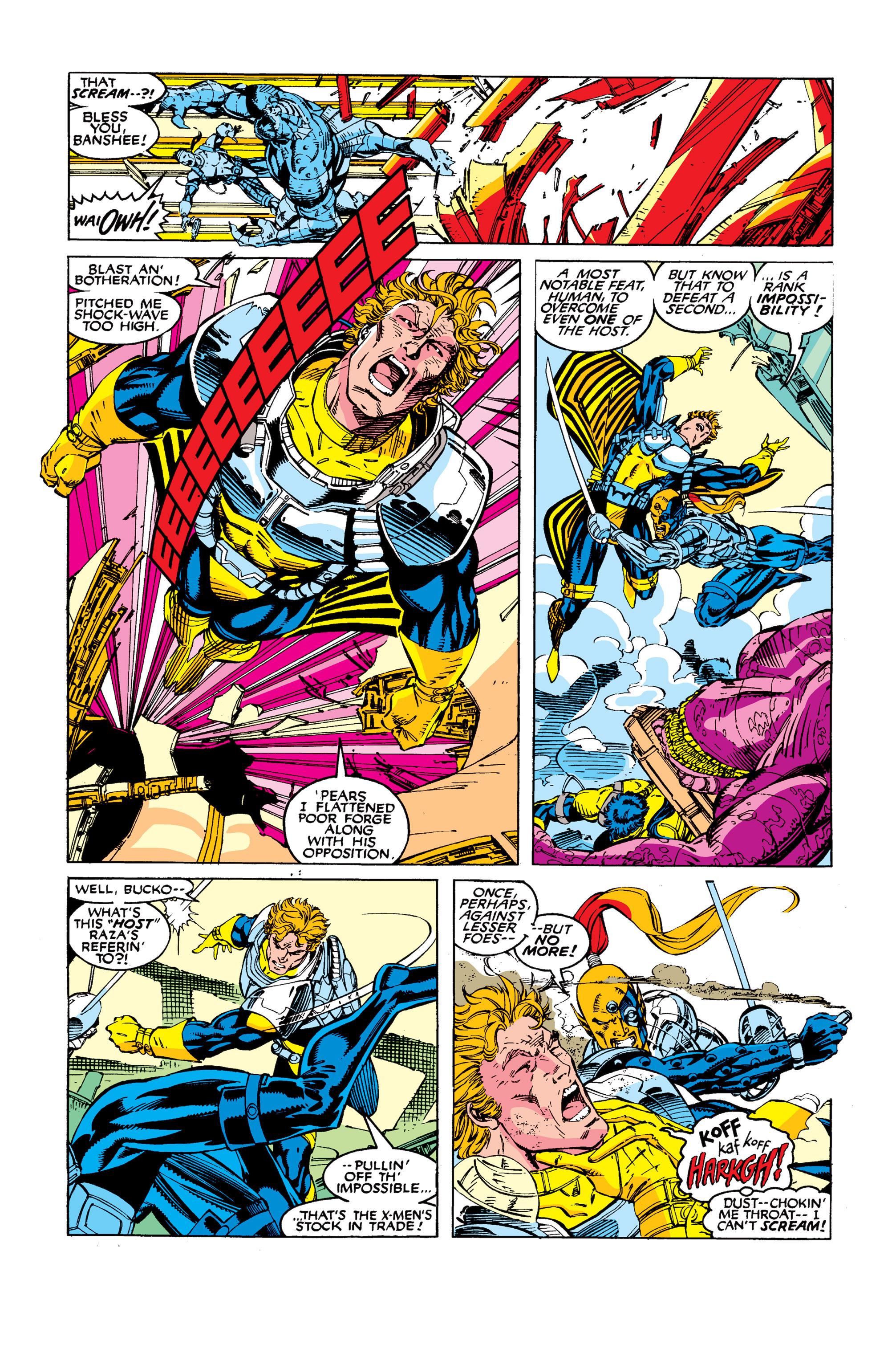 Read online Uncanny X-Men (1963) comic -  Issue #277 - 7
