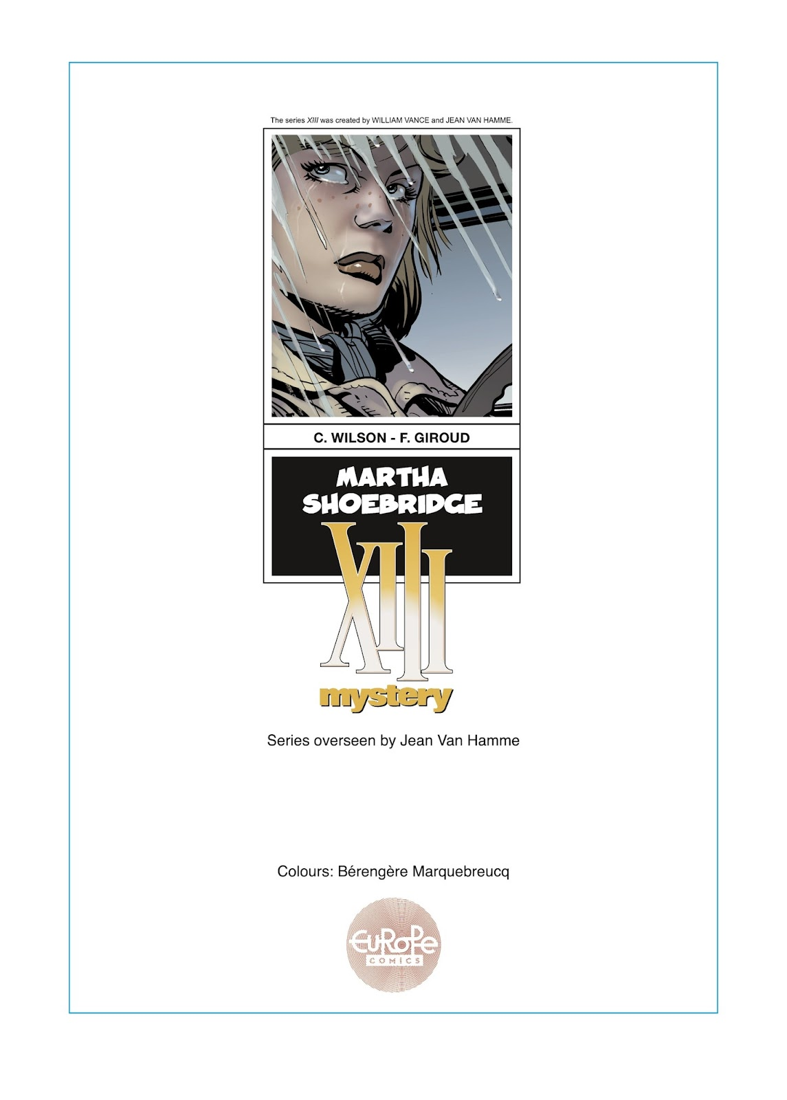 XIII Mystery issue 8 - Page 3